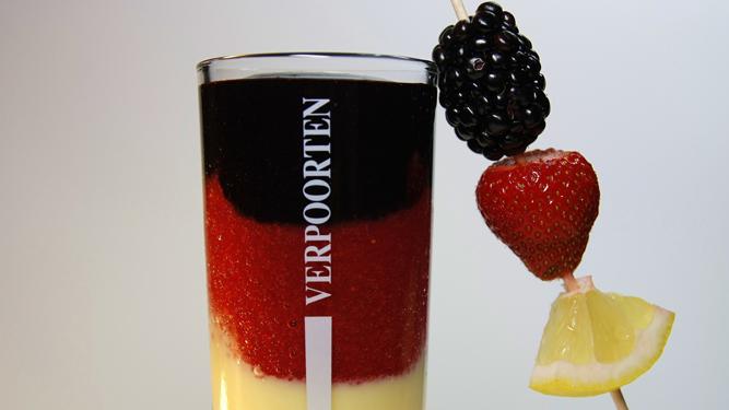 Verpoorten l nder cocktail deutschland 39 schwarz rot gold for Deutschland deko