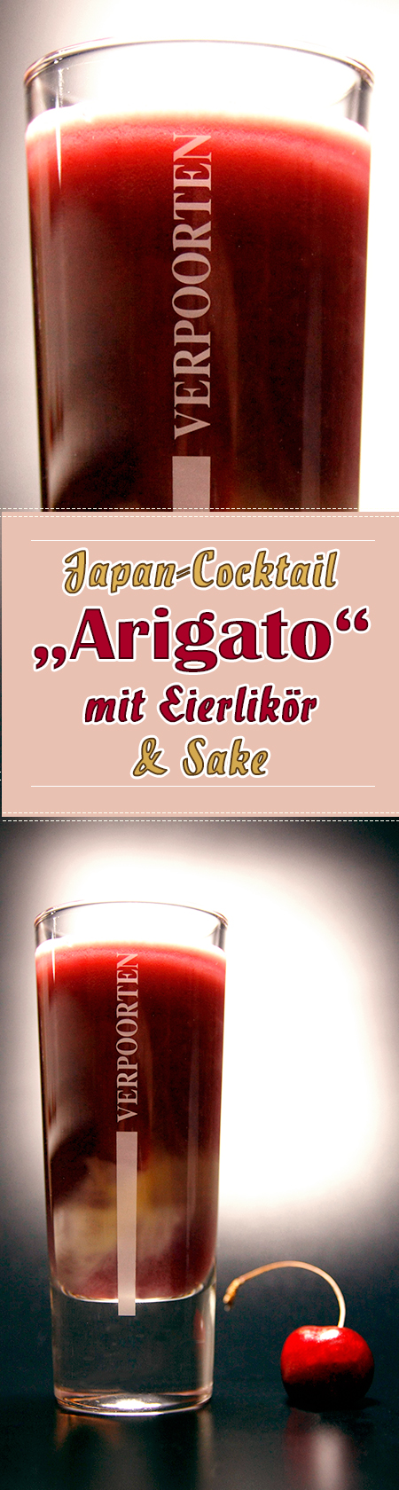 VERPOORTEN Länder-Cocktail Japan 'Arigato'