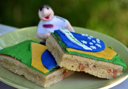 Fussball Torte Rezept Motivkuchen Brasilien Eierlikor Apfelkuchen Vom Blech