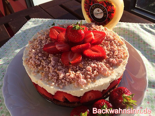 Strawberry Cheesecake de Luxe