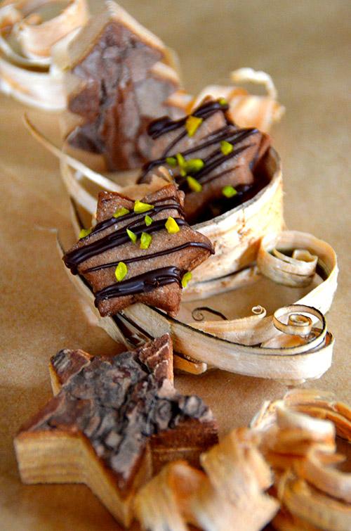 Weihnachtsplätzchen Schokoladenplätzchen.Eierlikör Plätzchen Schokoladenplätzchen Mit Verpoorten Ganache