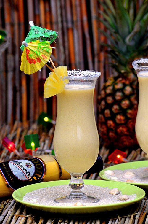 Tropical Pina Banana Smoothie Bild 1