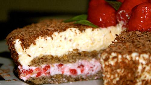 Eierlikor Sahne Torte Erdbeer Verpoorten Torte Kuchenrezepte