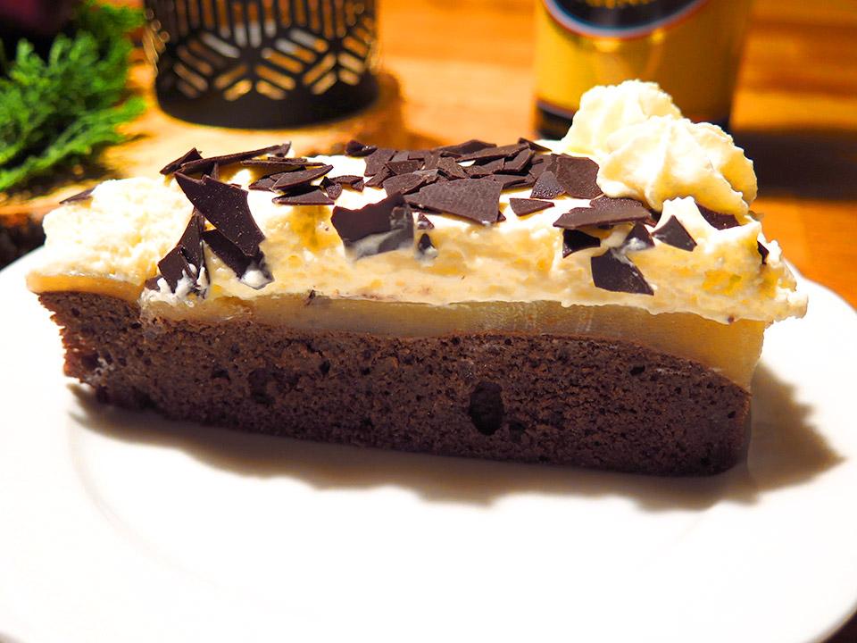 Weihnachtliche Schoko Birnen Torte Mit Verpoorten Original Eierlikor
