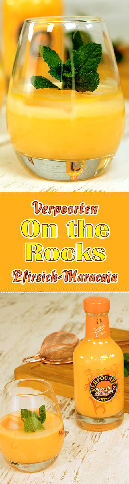 VERPOORTEN Pfirsich-Maracuja - on the rocks