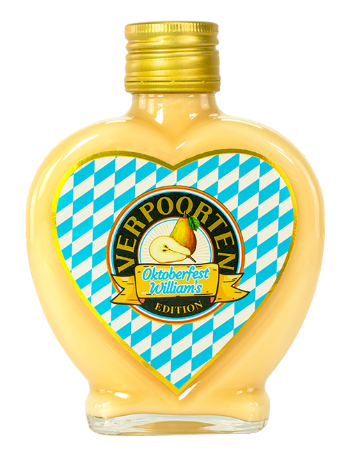 Herzflasche 0,2 L VERPOORTEN LIMITED EDITION OKTOBERFEST – Williams