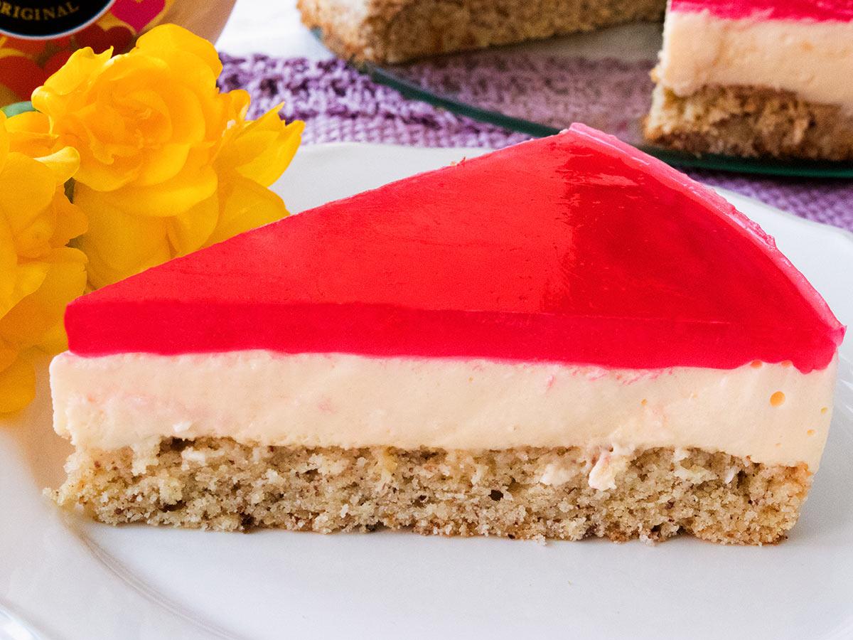 Ostertorte VERPOORTEN Easter double cheese cake - Kuchenrezepte mit ...
