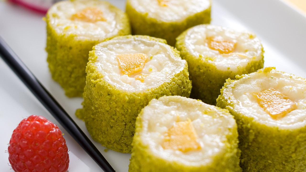 bestes eierlik rdessert verpoorten pistazien sushi weltmeister der konditoren manfred bacher. Black Bedroom Furniture Sets. Home Design Ideas