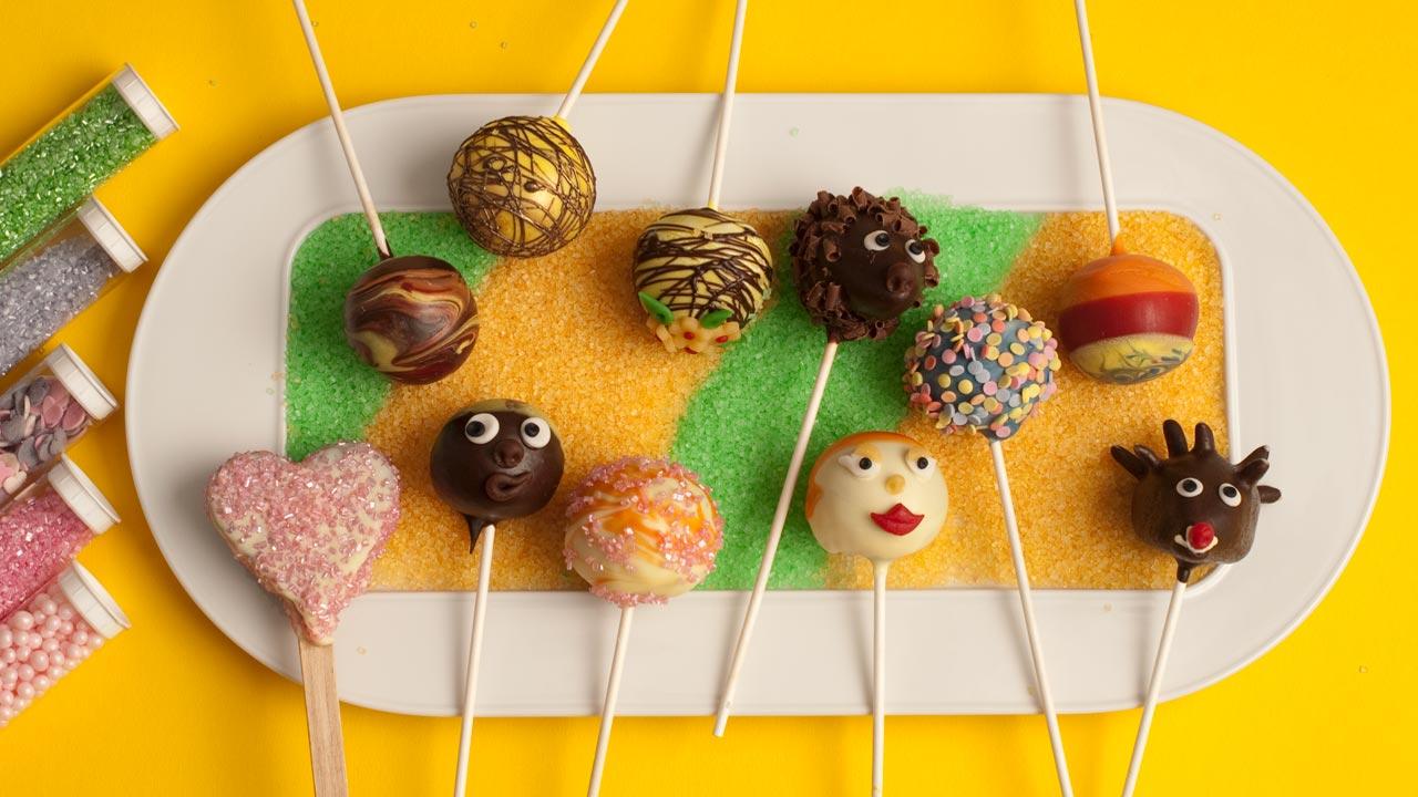 Cake Pops Kuchen Am Stiel Cake Pops Mit Verpoorten Original