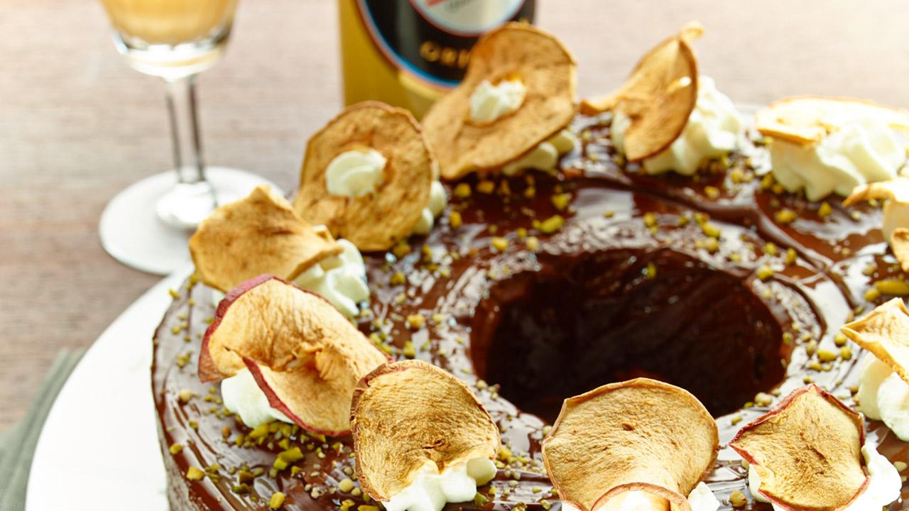 Schnell gemachter Apfelkuchen mit VERPOORTEN ORIGINAL ...