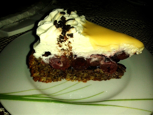 Kuchen kirschen haselnusse