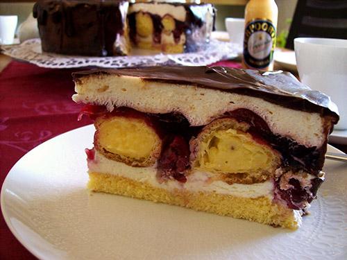 windbeutel schokoladen torte rezepte suchen. Black Bedroom Furniture Sets. Home Design Ideas
