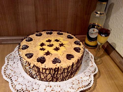 Mokka Eierlikor Torte Mit Verpoorten Original Kuchenrezepte Mit