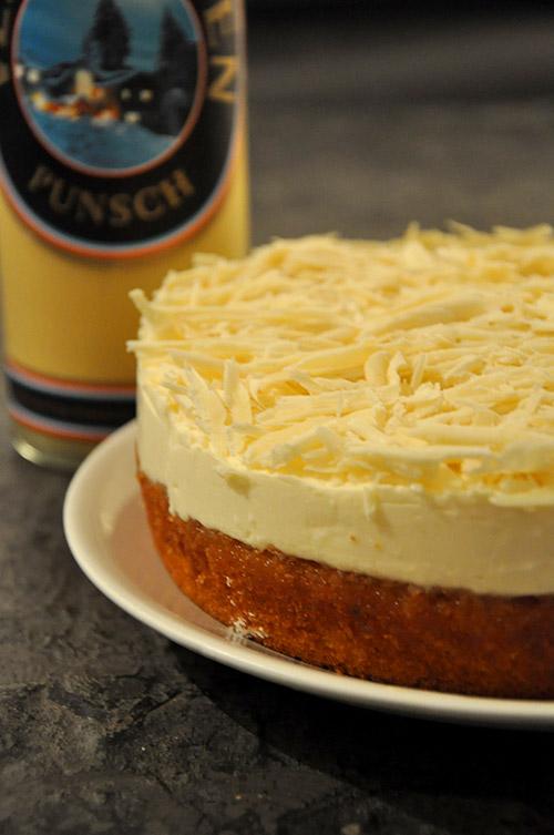 Frischkase Torte Mit Verpoorten Punsch Kuchenrezepte Mit Eierlikor
