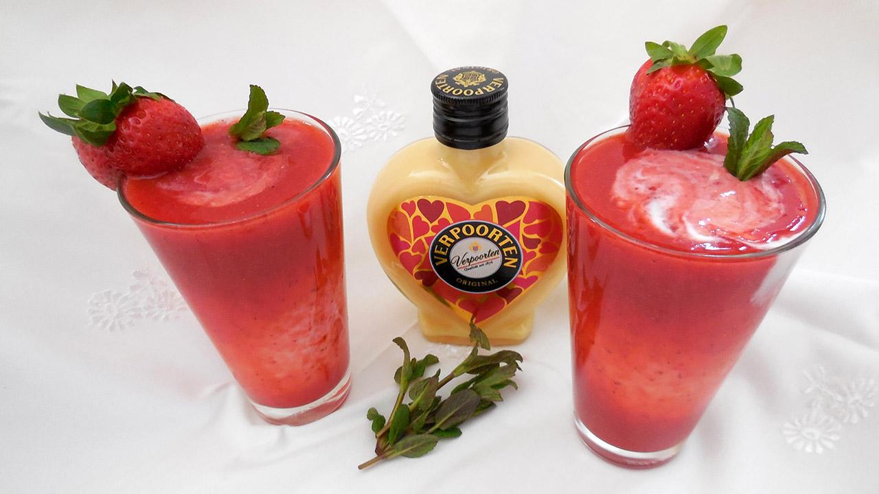 Unglaublich Longdrink Rezepte Ideen Von Erdbeer-chili-eierlikör-smoothie