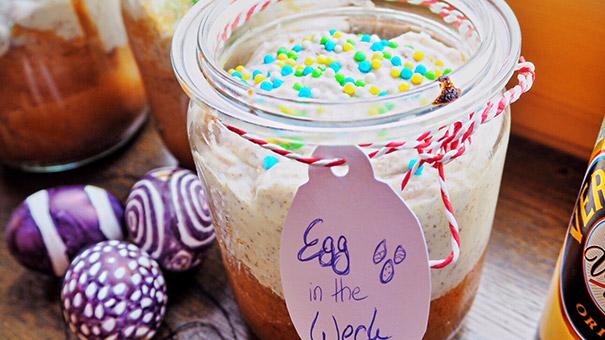 Kuchen Im Glas Egg In The Weck Mit Eierlikor Kuchenrezepte Mit