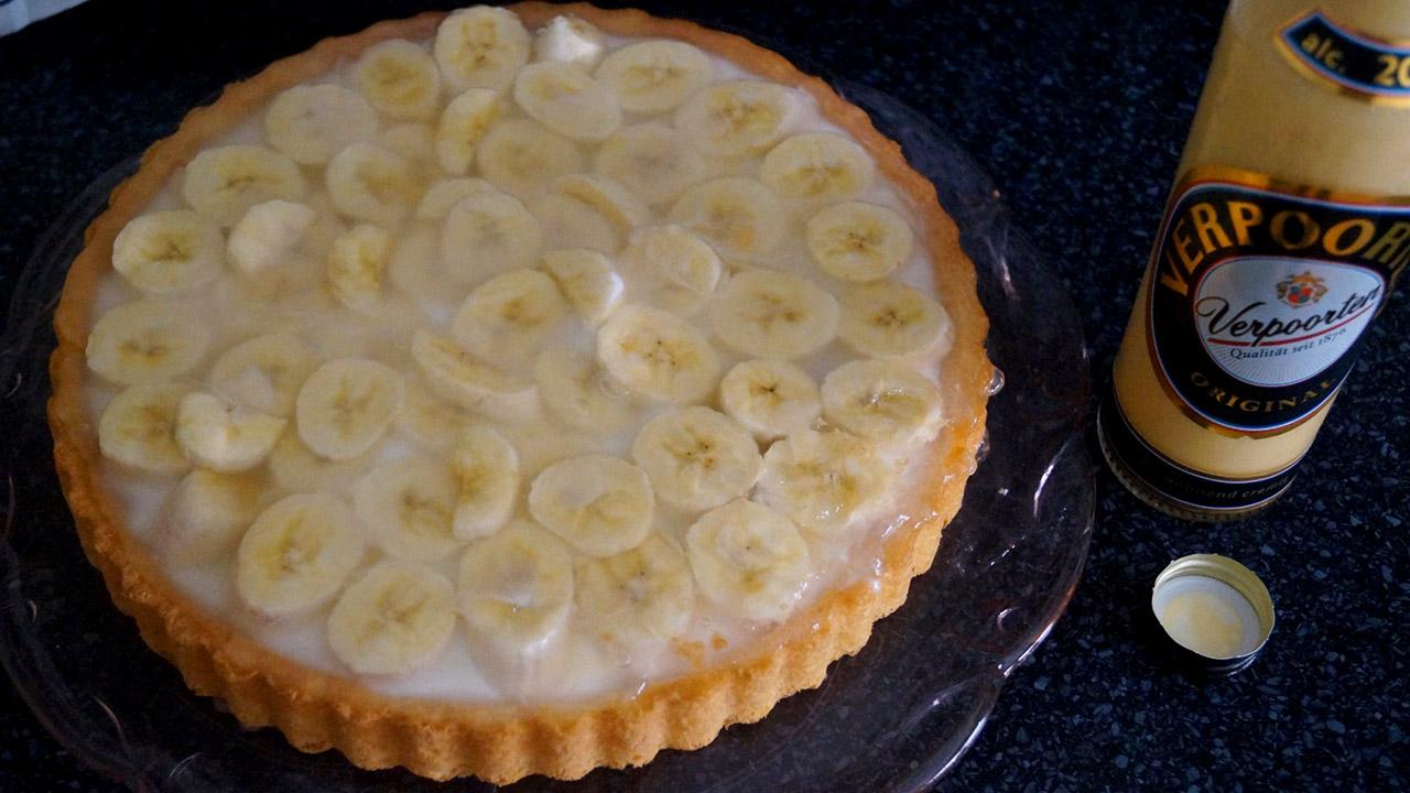 Schnelle Bananen Joghurt Torte Mit Verpoorten Original Eierlikor