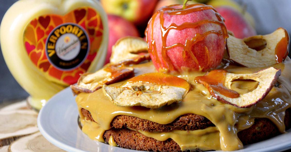 Apfel Karotten Torte Mit Verpoorten Karamell Kuchenrezepte Mit