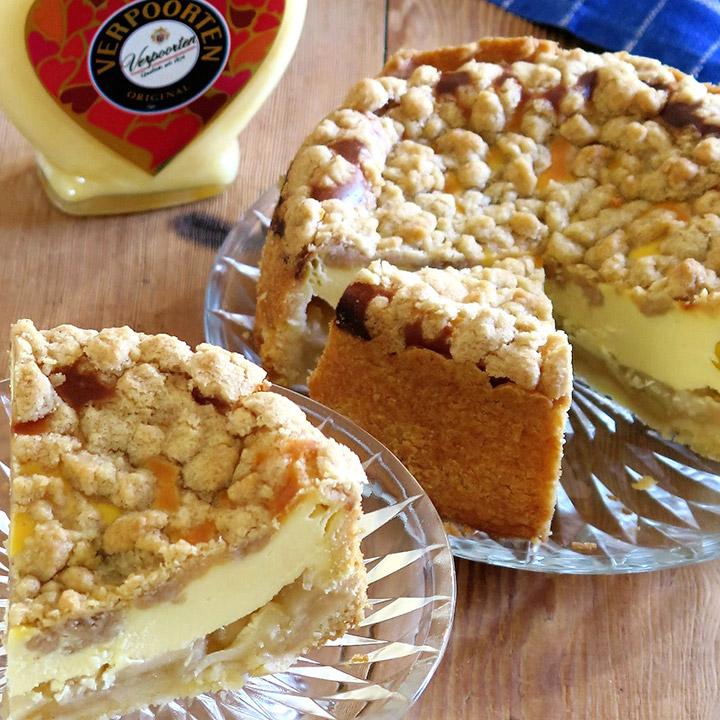 Apfel Schmand Eierlikorkuchen Mit Zimtstreuseln Kuchenrezepte Mit