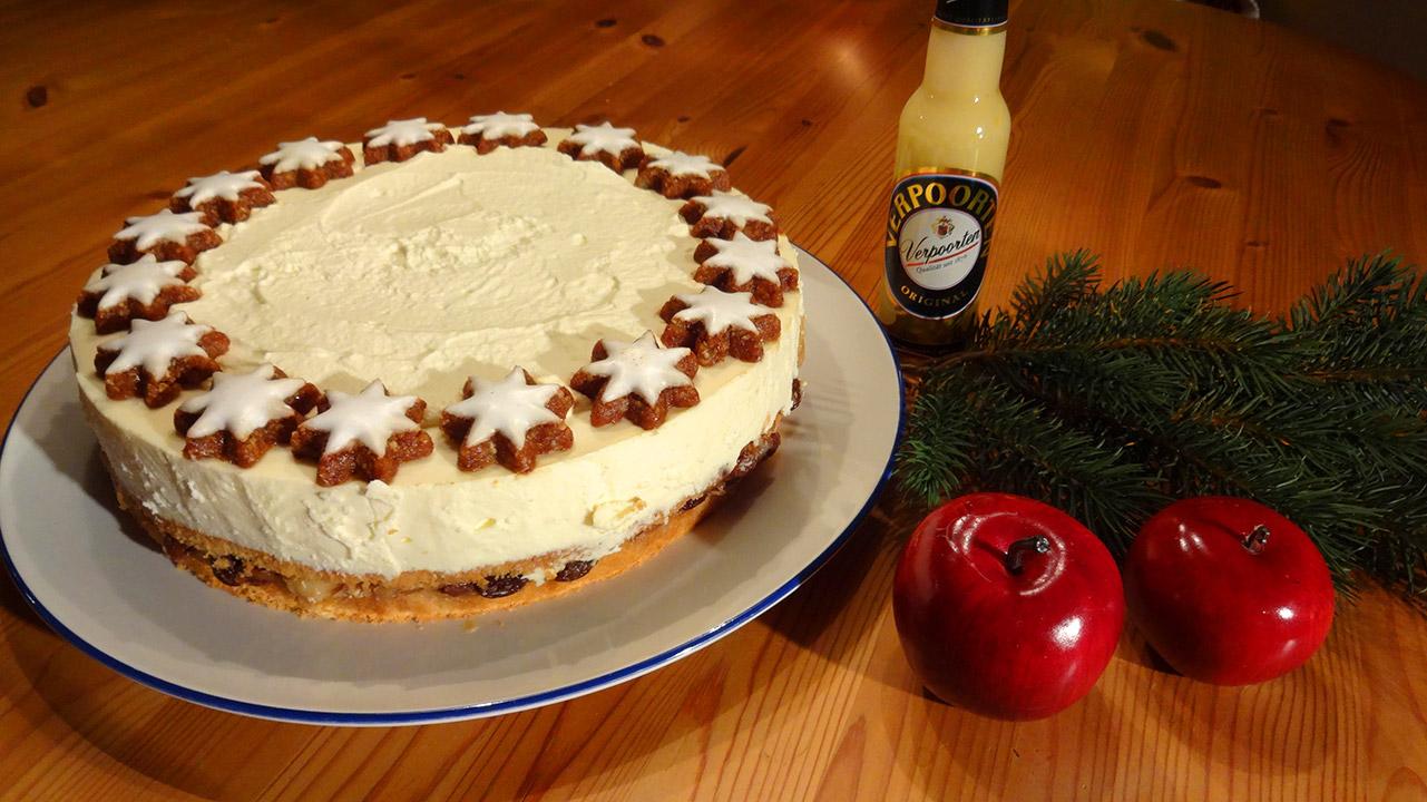 Weihnachtliche Bratapfel Verpoorten Torte Kuchenrezepte Mit